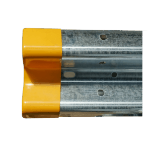 Short Yellow Scroll End